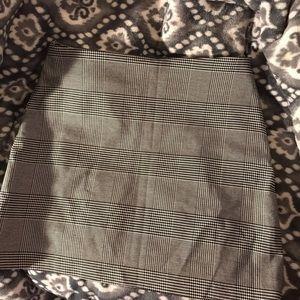 forever 21 plaid skirt